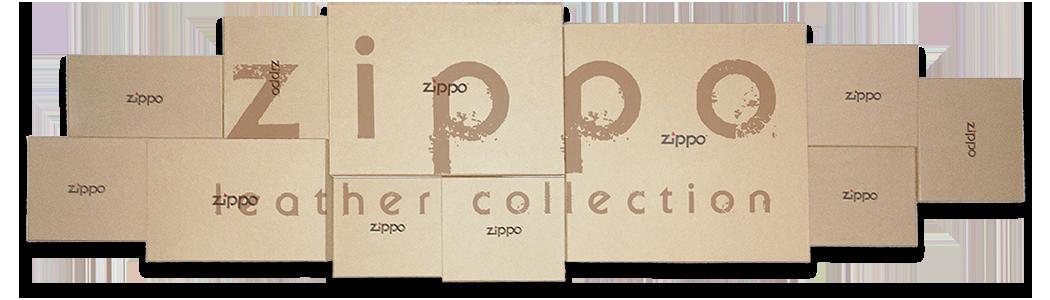 Кожаная коллекция портмоне Zippo