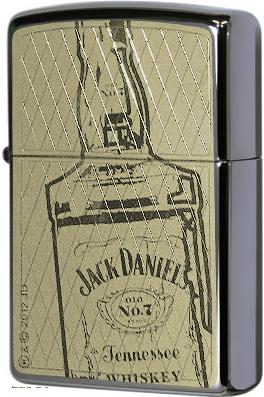 150 Jack Daniel's Зажигалка Zippo Bottle, Black Ice
