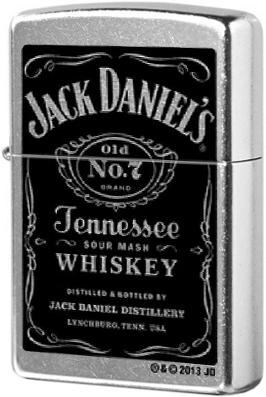 24779 Зажигалка Zippo Jack Daniels Distillery, Street Chrome