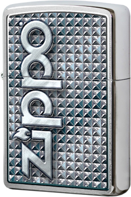 28280 Зажигалка Zippo 3D Abstract, Brushed Chrome