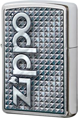 28280 Зажигалка Zippo 3D Abstract, Brushed Chrome