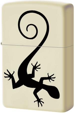 29190 Зажигалка Zippo Lizard, Cream Matte