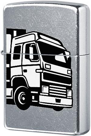 29226 Зажигалка Zippo European Truck, Street Chrome
