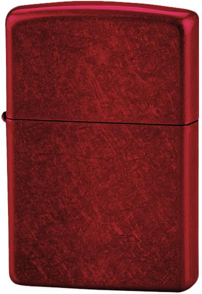 21063 Зажигалка Zippo Candy Apple Red