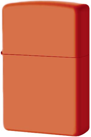 231 Зажигалка Zippo Orange Matte