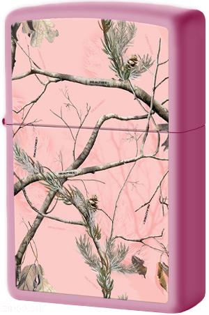28078 Зажигалка Zippo Realtree APC Pink Matte