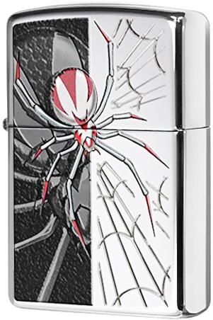 28795 Зажигалка Zippo Spider to Crawl, Polish Chrome