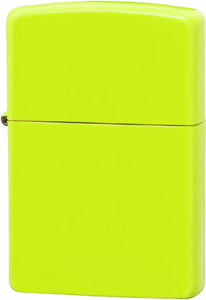 28887 Зажигалка Zippo Neon Lime