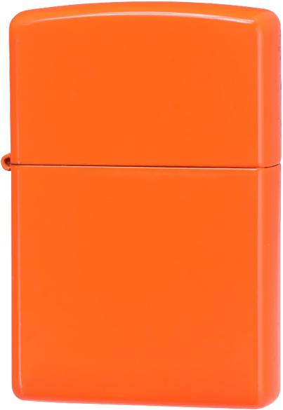 28888 Зажигалка Zippo, Neon Orange