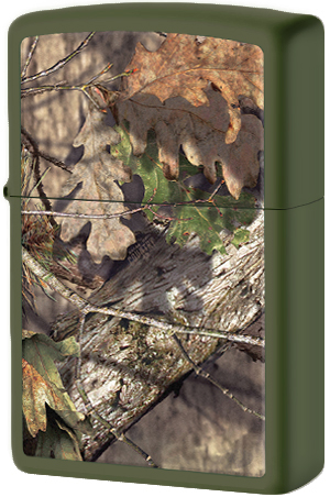 29129 Зажигалка Zippo Mossy Oak, Green Matte