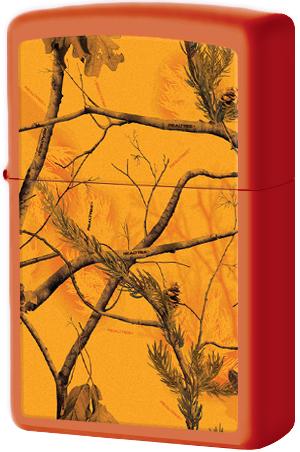 29130 Зажигалка Zippo Realtree AP Blaze, Orange Matte