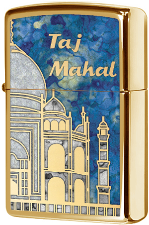 29245 Зажигалка Zippo Taj Mahal, Polish Brass