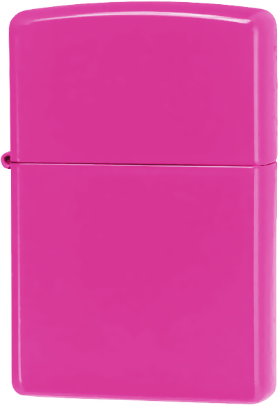 28886 Зажигалка Zippo Neon Pink