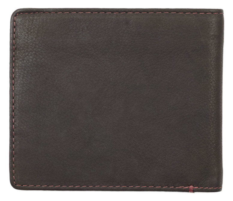 2005116 Портмоне Zippo Mocha Genuine Leather Bi-fold - обратная сторона