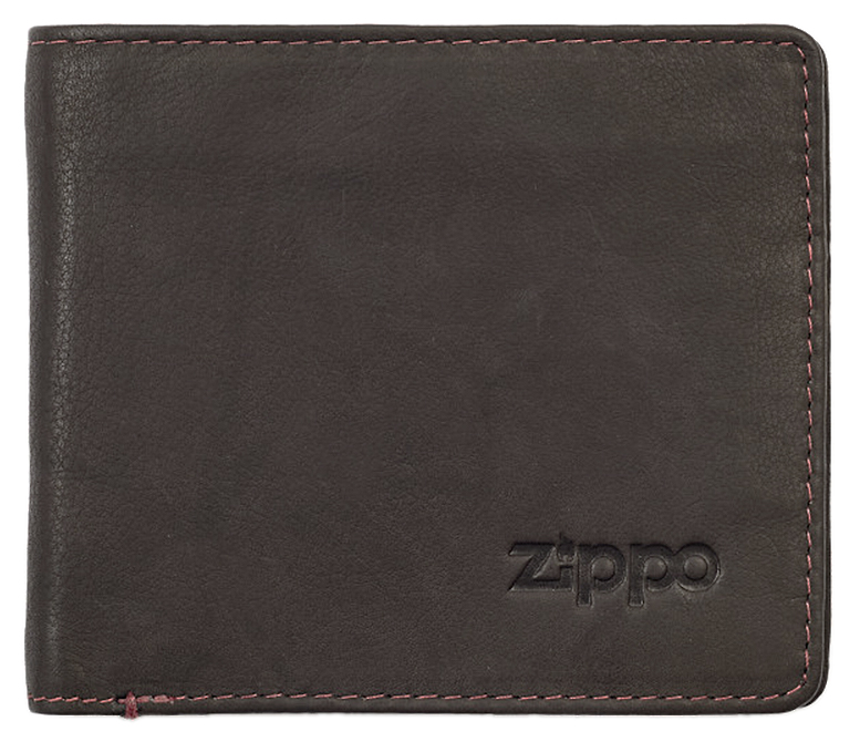 2005116 Портмоне Zippo Mocha Genuine Leather Bi-fold