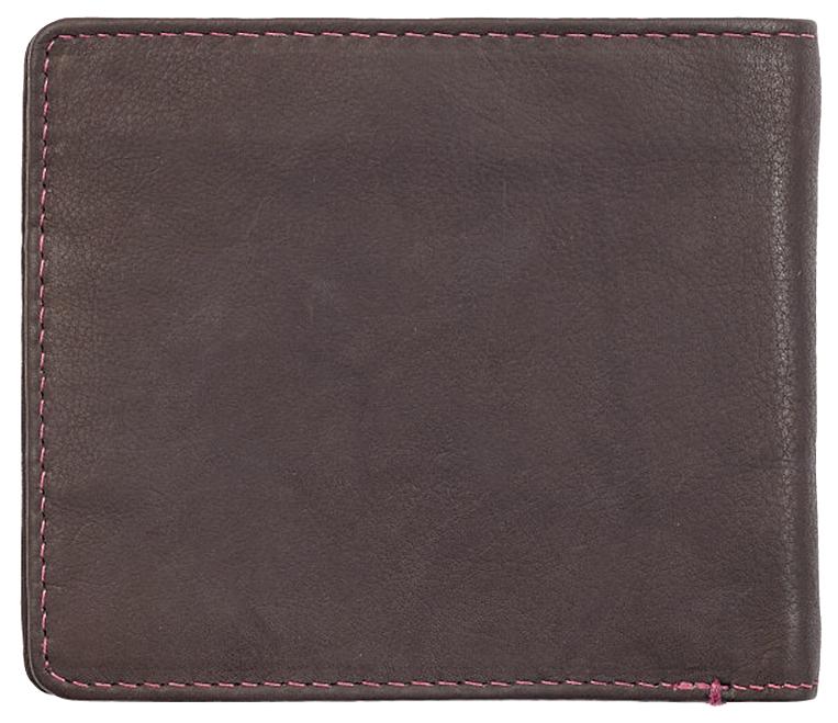 2005117 Портмоне Zippo Brown Genuine Leather - обратная сторона