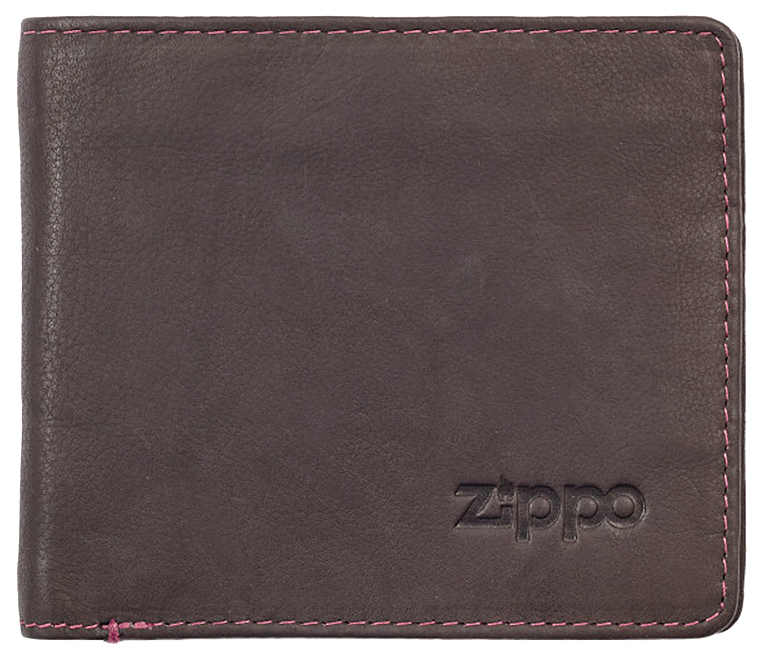 2005117 Портмоне Zippo Brown Genuine Leather