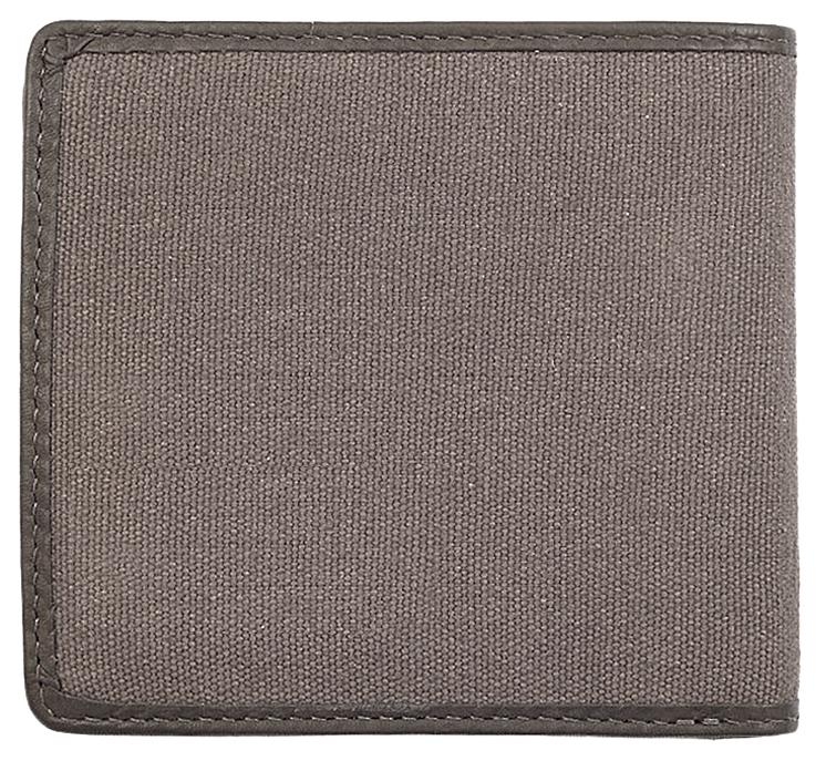 2005120 Портмоне Zippo Canvas and Leather Bi-fold, с монетницей - обратная сторона