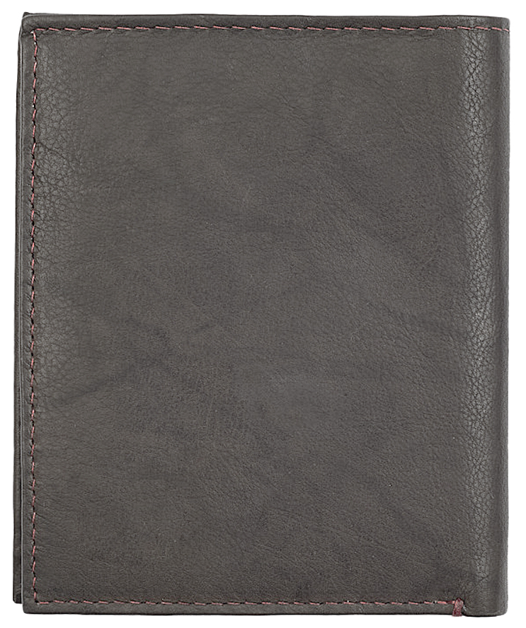2005121 Портмоне Zippo Vertical Wallet Bi-fold Leather Mocha - обратная сторона