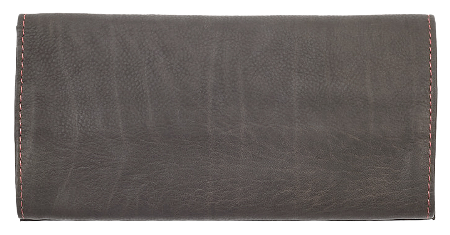 2005130 Кисет для табака Zippo Tobacco Pouch, Mocha Leather Tri-fold - обратная сторона