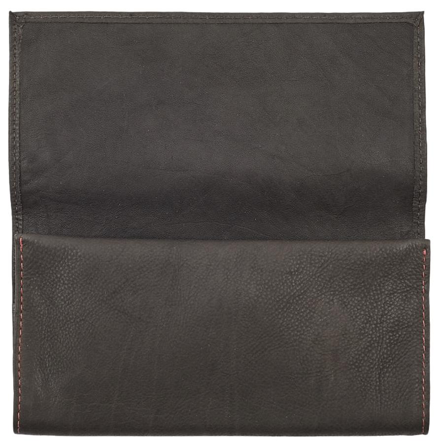 2005130 Кисет для табака Zippo Tobacco Pouch, Mocha Leather Tri-fold - тройное сворачивание обеспечивает сохранность качества табака