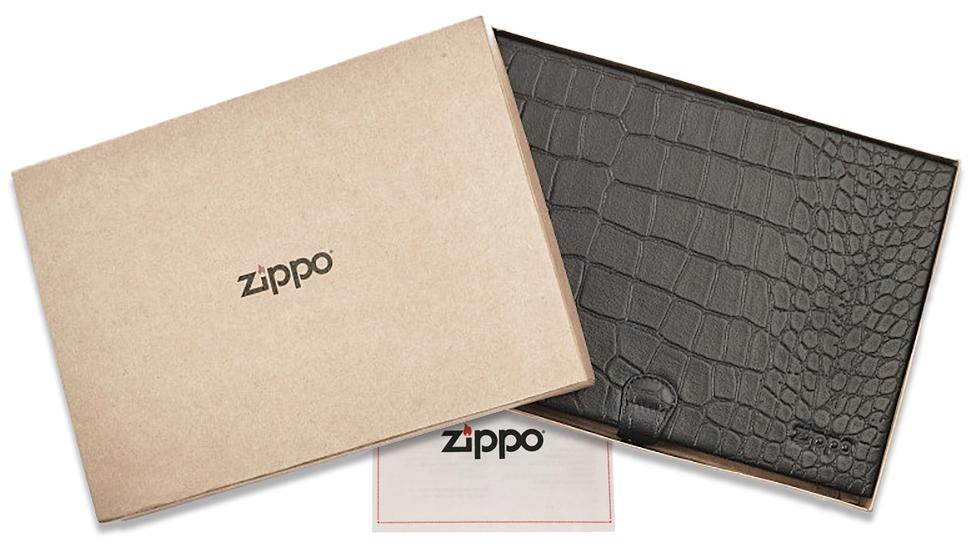 2005131 Кейс Zippo Collectors Case, Genuine Leather - в подарочной упаковке