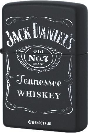 218 Зажигалка Zippo Jack Daniel's old N7, Black Matte