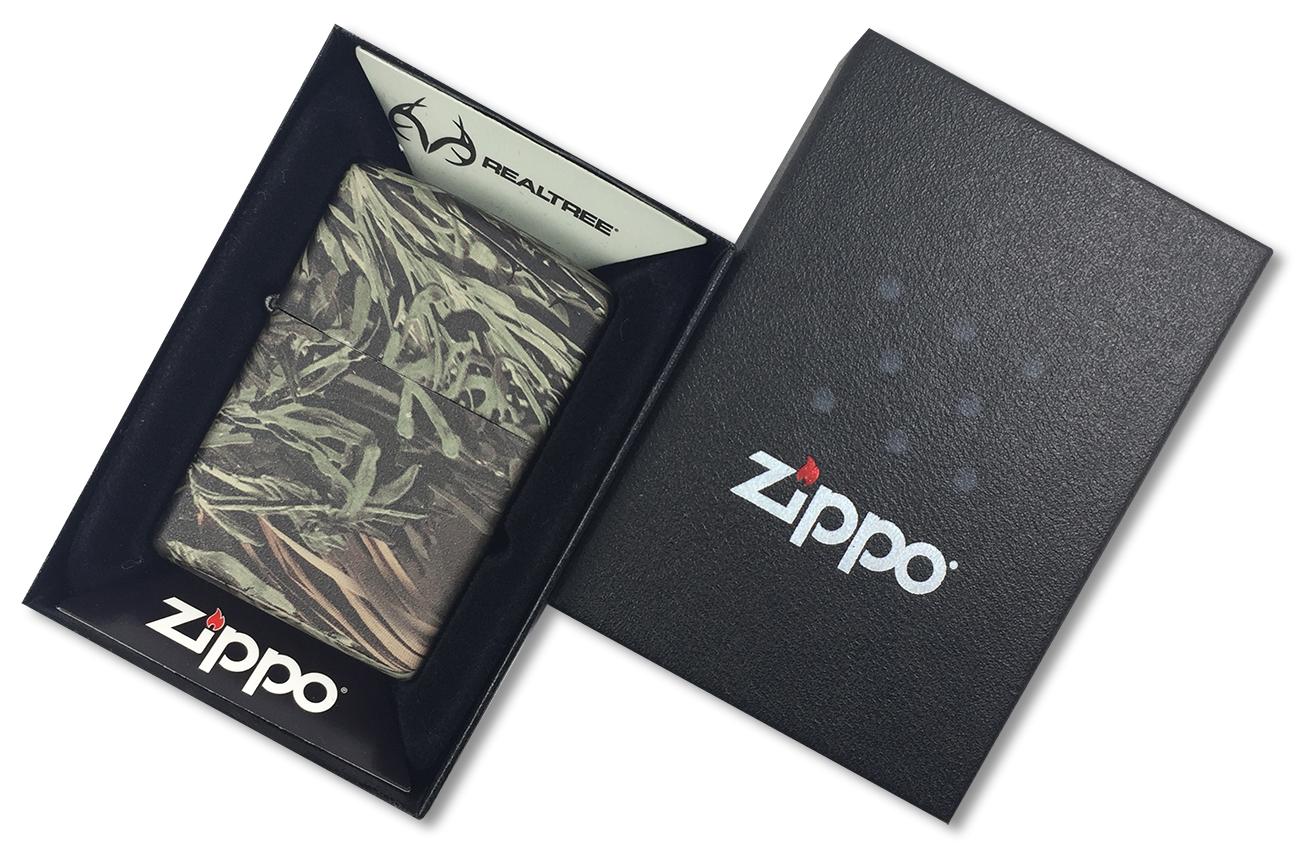 24072 Зажигалка Zippo Advantage MAX-1, Realtree - в подарочной упаковке