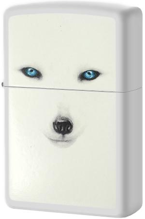 28272 Зажигалка Zippo Arctic Fox, White Matte