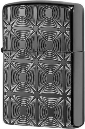 29665 Зажигалка Zippo Decorative Pattern Design, Armor Black Ice
