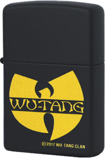 29711 Зажигалка Zippo Wu-Tang Clan, Black Matte