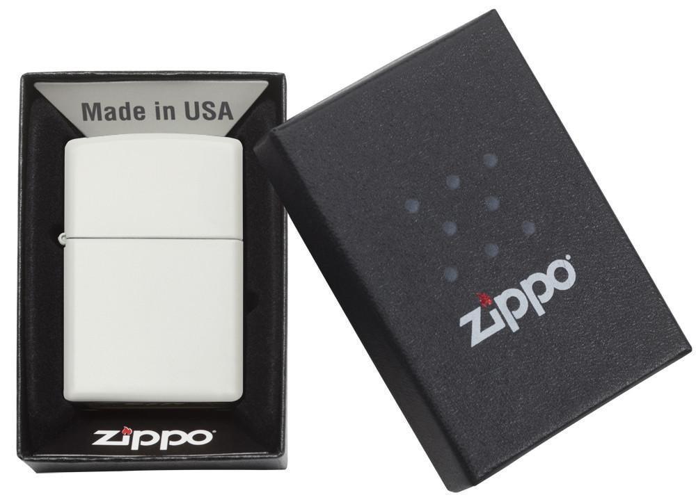 214 Зажигалка Zippo White Matte