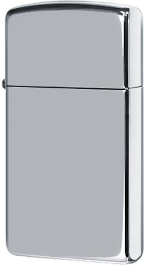 1610 Зажигалка Zippo Slim, Polish Chrome