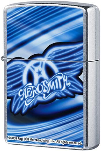 24570 Зажигалка Zippo Aerosmith, Street Chrome