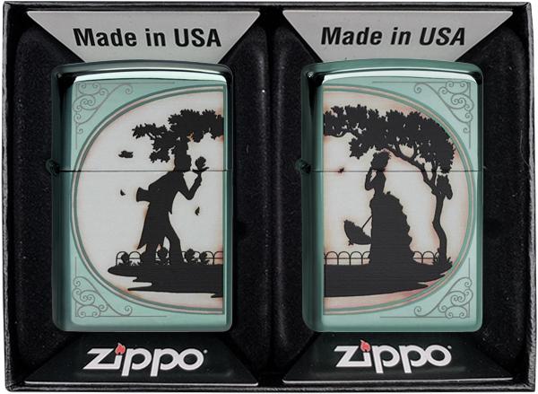 2003984 Zippo Combo Pack Garden of Eden, Chameleon
