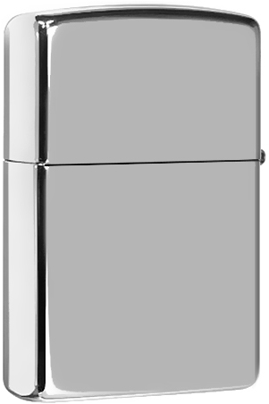 250 Зажигалка Zippo High Polish Chrome
