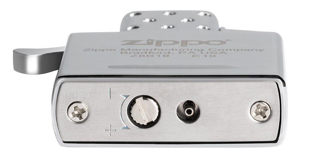 65827 Газовый модуль Zippo Butane Lighter Insert Double Torch - регулировка высоты пламени и клапан для заправки газом