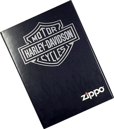 20689 Зажигалка Zippo Harley-Davidson Wolf, Black Matte