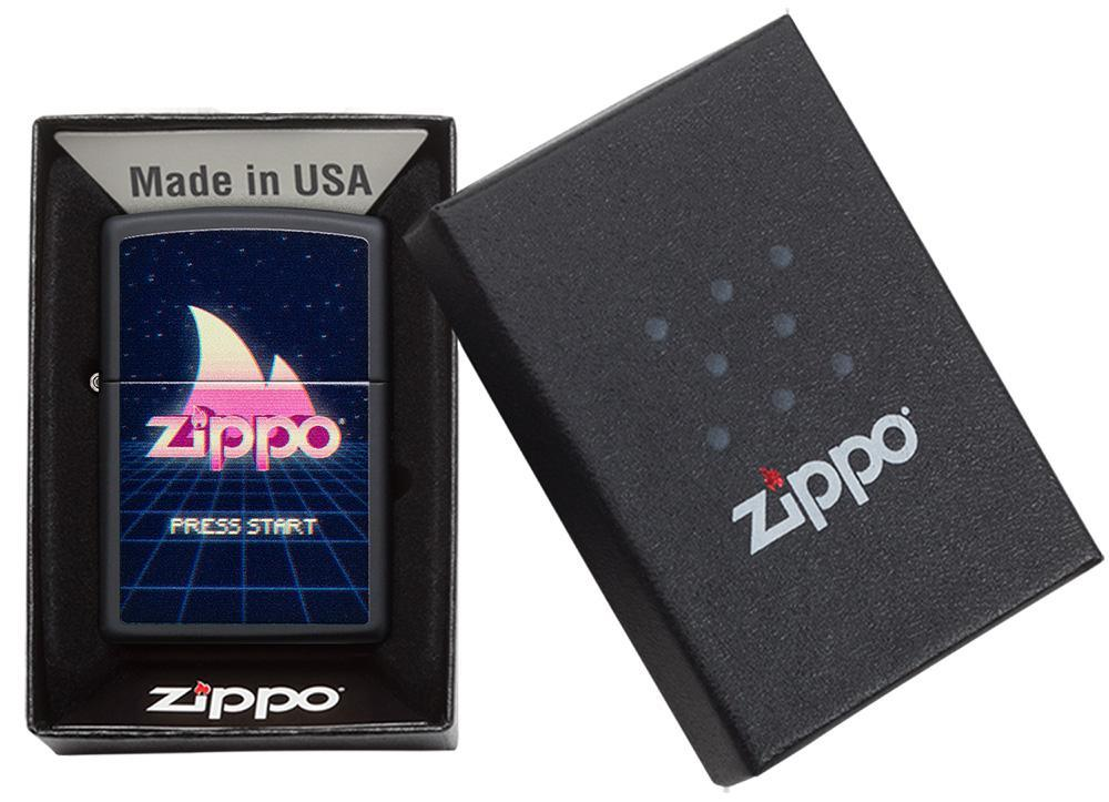 49115 Зажигалка Zippo Gaming Design, Black Matte