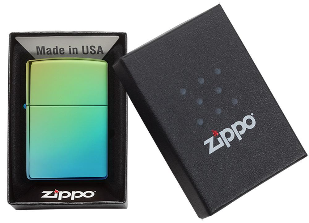 49191 Зажигалка Zippo Classic High Polish Teal