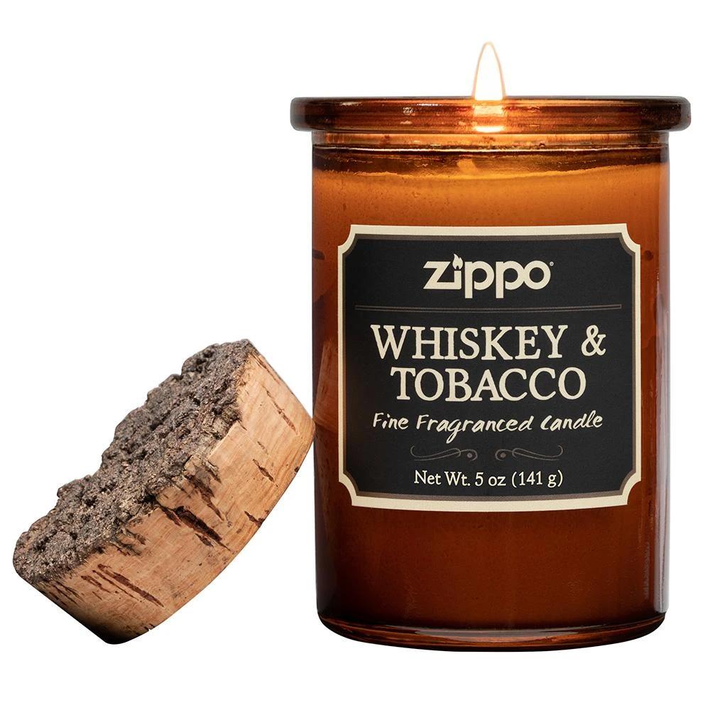 70015 Ароматическая свеча Zippo Spirit Candle Whiskey & Tobacco