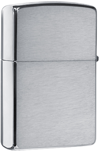 49206 Зажигалка Zippo Vintage Art Deco, Brushed Chrome
