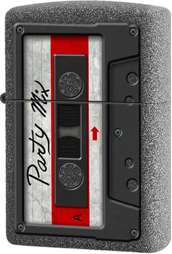 211 Зажигалка Zippo Party Mix, Iron Stone