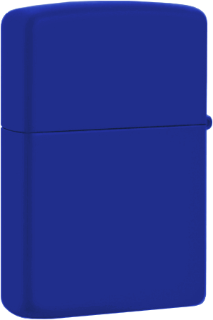 229 Зажигалка Zippo Royal Blue Matte