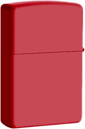 233 Зажигалка Zippo, Red Matte