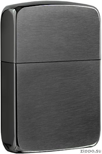 24096 Зажигалка Zippo Replica, Black Ice