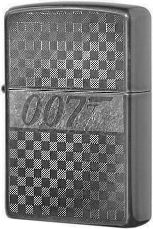 29564 Зажигалка Zippo James Bond 007, Gray Dusk