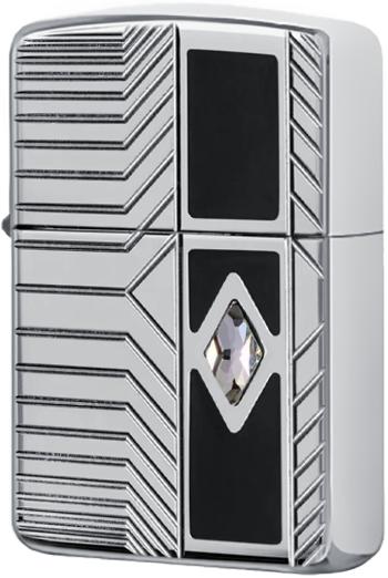 29669 Зажигалка Zippo Classy Tech, Armor Polish Сhrome