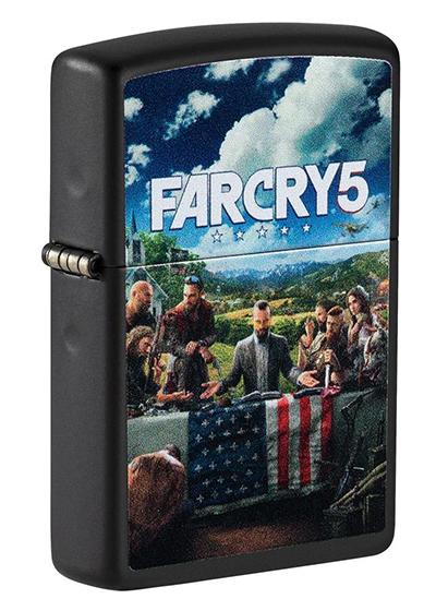 49244 Зажигалка Zippo Far Cry 5, Black Matte — zippo.su