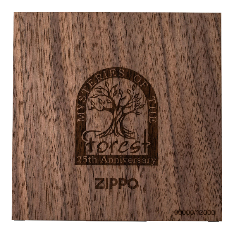 49347 Набор зажигалок Zippo Mysteries of the Forest - 25th Anniversary Collectible limited